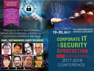 CORPORATE IT & SECURITY & PROTECTION RISK MANAGEMENT 2017-2018