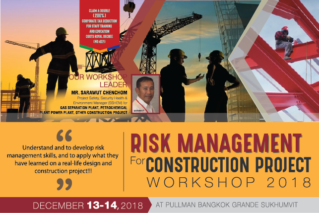 Risk Management for Construction Project Workshop