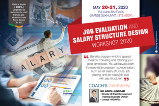 JOB EVALUATION AND SALARY STRUCTURE DESIGN WORKSHOP 2020