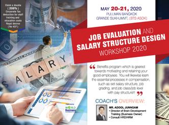 JOB EVALUATION AND SALARY STRUCTURE DESIGN WORKSHOP 2020