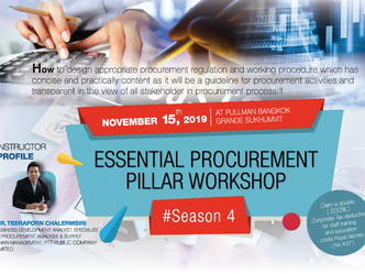 ESSENTIAL PROCUREMENT PILLAR WORKSHOP #SEASON 4