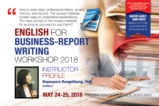Effective English Writing for Business Purposes Workshop