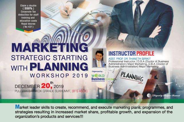 Marketing Strategic Starting With Planning Workshop