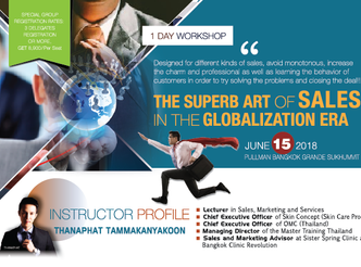 THE SUPERB ART OF SALES IN THE GLOBALIZATION ERA
