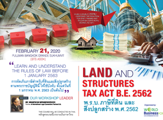 LAND AND STRUCTURES TAX ACT B.E.2562