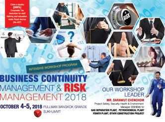 BUSINESS CONTINUITY MANAGEMENT & RISK MANAGEMENT 2018