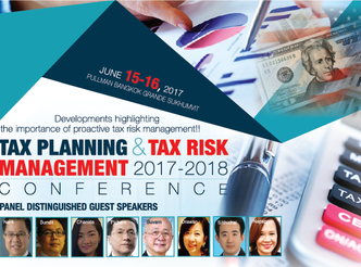TAX PLANNING & TAX RISK MANAGEMENT 2017-2018 CONFERENCE
