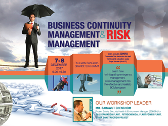 BUSINESS CONTINUITY MANAGEMENT & RISK MANAGEMENT