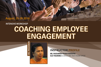 COACHING EMPLOYEE ENGAGEMENT INTENSIVE WORKSHOP