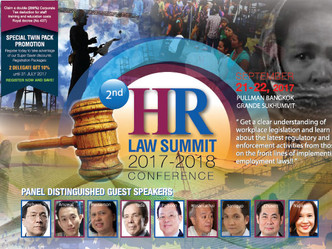 2ND HR LAW SUMMIT 2017-2018 CONFERENCE