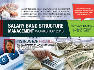 2ND SALARY BAND STRUCTURE MANAGEMENT WORKSHOP 2018