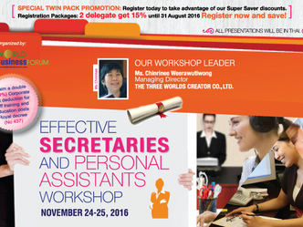 EFFECTIVE SECRETARIES AND PERSONAL ASSISTANTS WORKSHOP