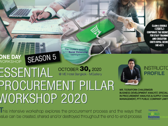 ESSENTIAL PROCUREMENT PILLAR WORKSHOP 2020 #SEASON 5