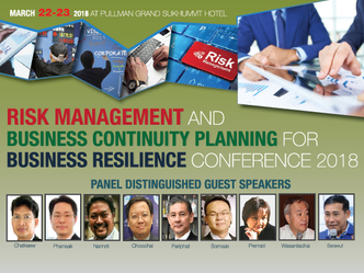 RISK MANAGEMENT AND BUSINESS CONTINUITY PLANNING FOR BUSINESS RESILIENCE CONFERENCE 2018