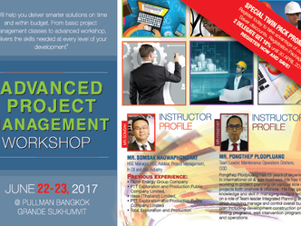 ADVANCED PROJECT MANAGEMENT WORKSHOP
