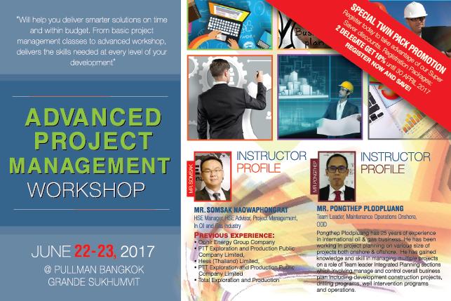 Advanced Project Management Workshop