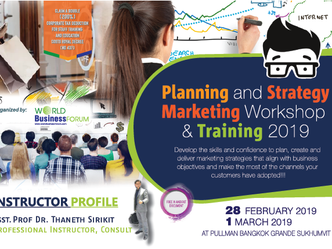 PLANNING AND STRATEGY MARKETING WORKSHOP & TRAINING 2019