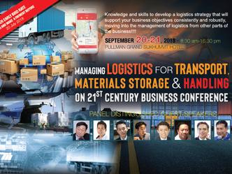 MANAGING LOGISTICS FOR TRANSPORT, MATERIALS STORAGE & HANDLING 21ST CENTURY BUSINESS CONFERENCE