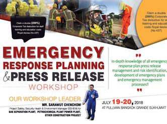 EMERGENCY RESPONSE PLANNING & PRESS RELEASE WORKSHOP