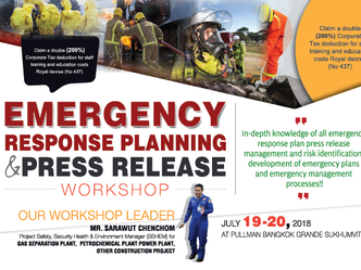 EMERGENCY RESPONSE PLANNING & PRESS RELEASE WORKSHOP