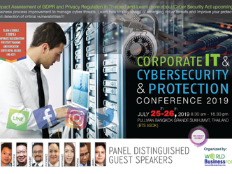 CORPORATE IT & CYBERSECURITY & PROTECTION 2019 CONFERENCE