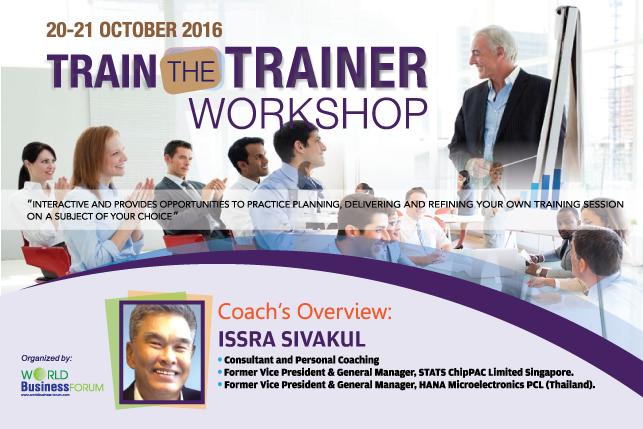 Train The Trainer Workshop