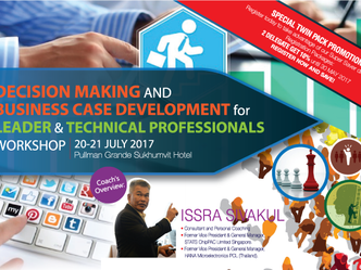 DECISION MAKING AND BUSINESS CASE DEVELOPMENT FOR LEADER & TECHNICAL PROFESSIONALS WORKSHOP