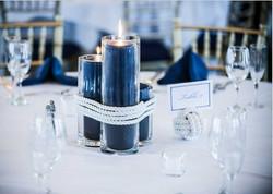 Navy-Blue-Wedding-Centerpiece