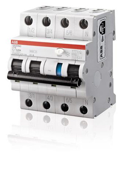 ABB DS203NC C32 A30 Residual Current Circuit Breaker with Overcurrent Protection