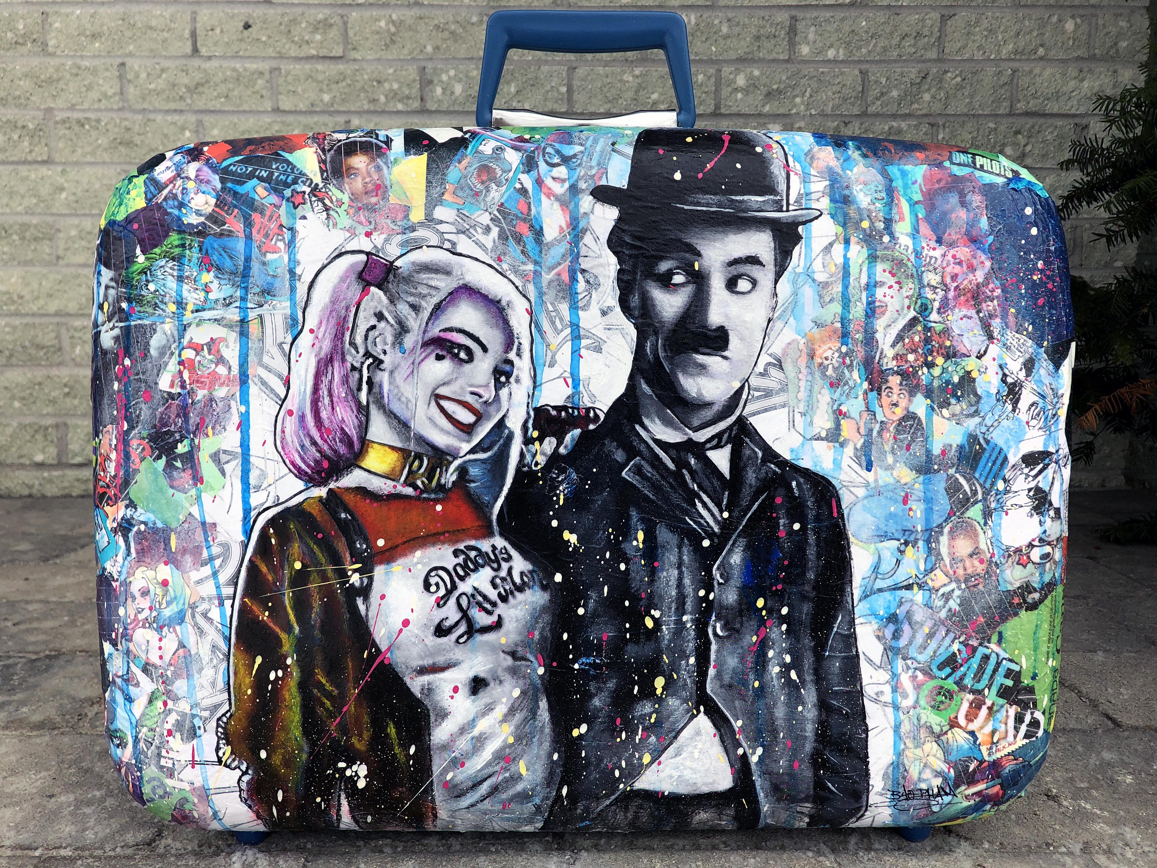 Bao's vintage-luggage