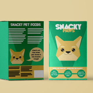 Snacky Paws Product Design
