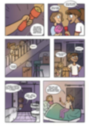 Ghost Hunter - Sample Page