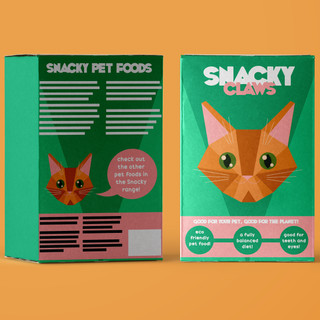 Snacky Claws Product Design