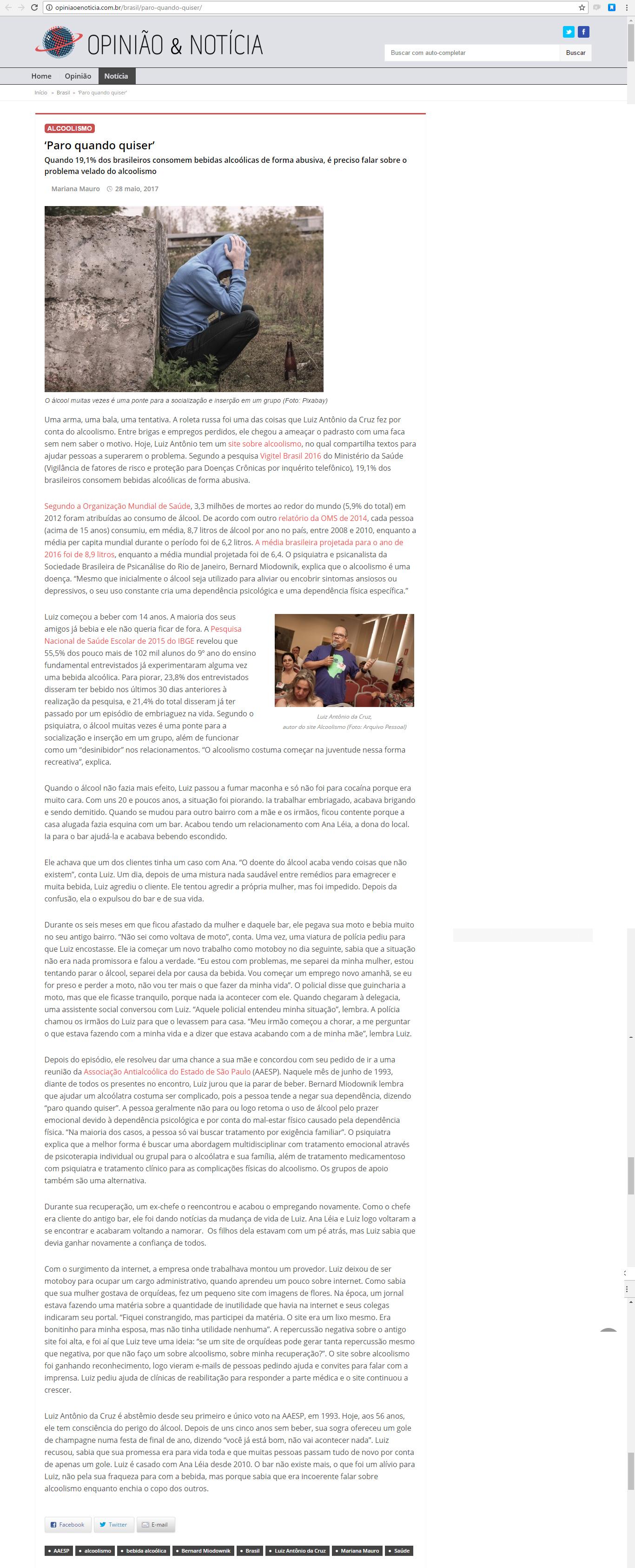 Opinião & Notícia