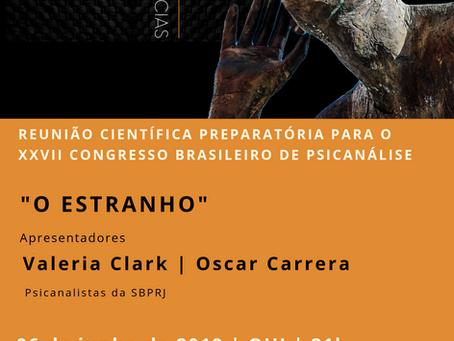 Reunião Científica preparatória para o XXVII Congresso Brasileiro de Psicanálise