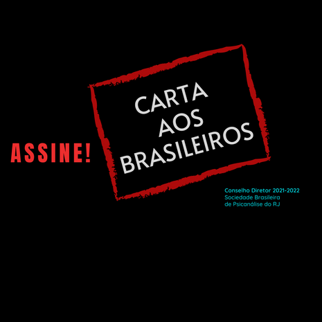 Carta aos Brasileiros / Letter to Brazilians / Lettre aux Brésiliens / Carta a los Brasileños