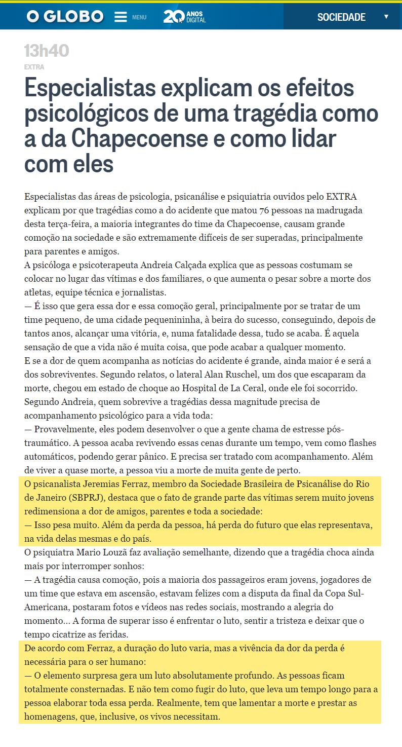 O Globo - Sociedade