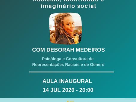 """Curso on-line """"Racismo,  identidade e imaginário social"""""""