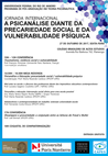 """projeto travess!a na Jornada Internacional """"A psicanálise diante da precariedade social e da vu"""