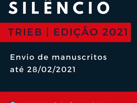 Envio de trabalhos para a Revista TRIEB Edição 2021 - Silêncio