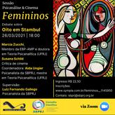 Sessão Psicanálise & Cinema - Femininos: 8 em Istambul