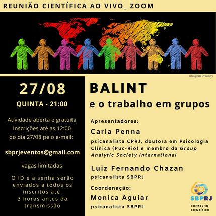 BALINT e o trabalho em grupos