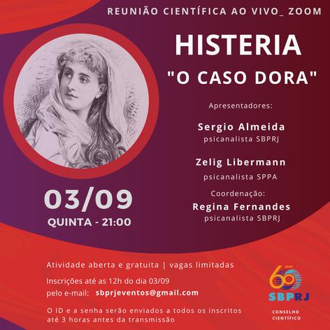 """HISTERIA - """"O caso Dora"""""""