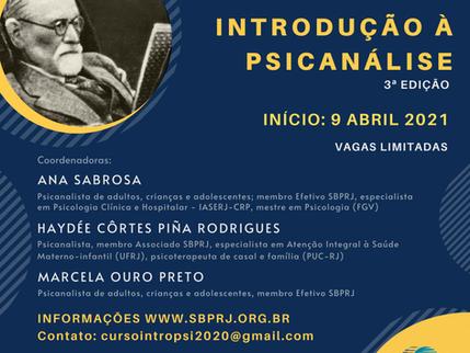 Curso Introdução à Psicanálise - 3ª edição