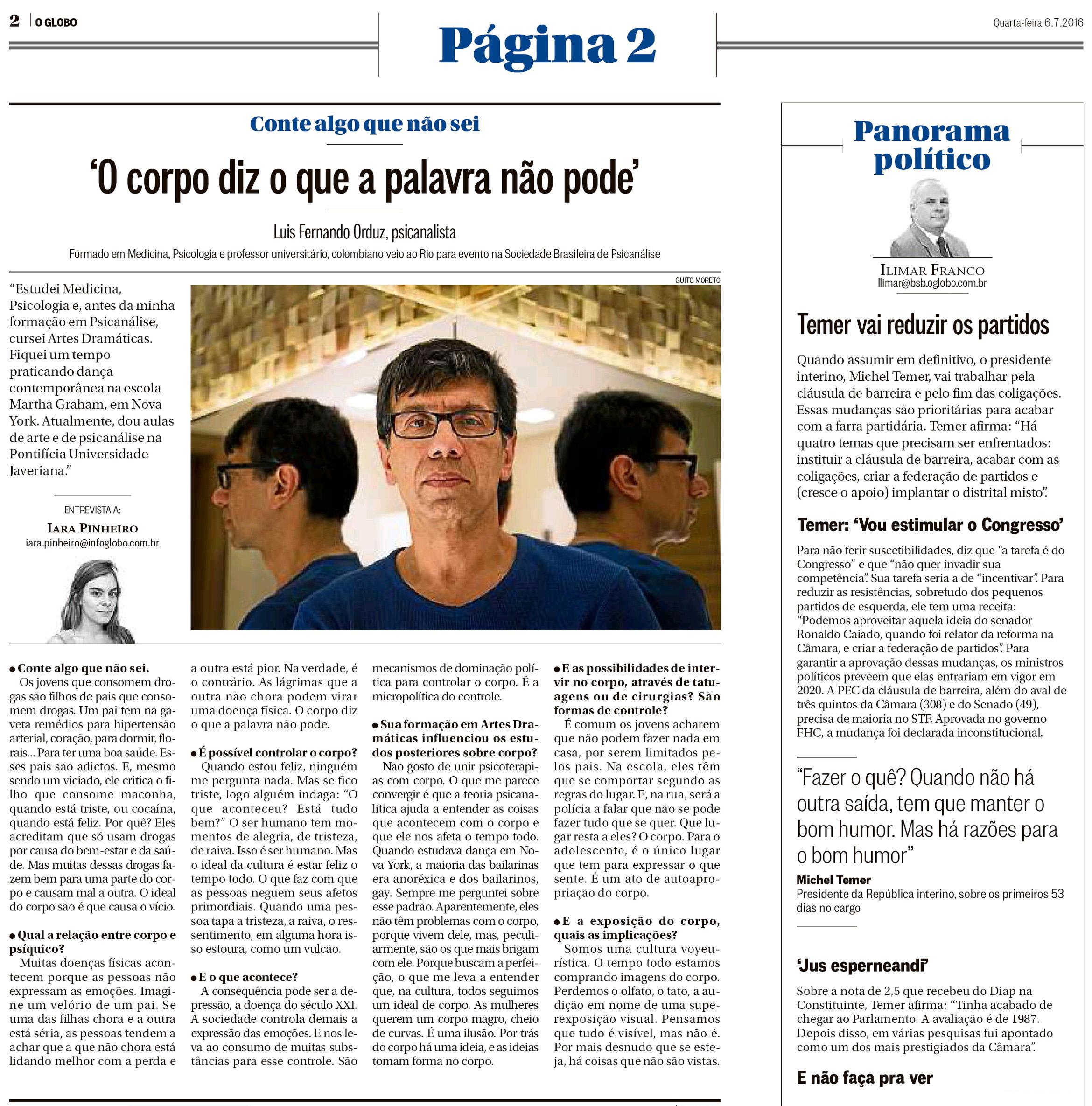 O Globo -  Página 2