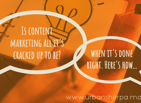 What every small business should know about content marketing (aka your small business guide to maki