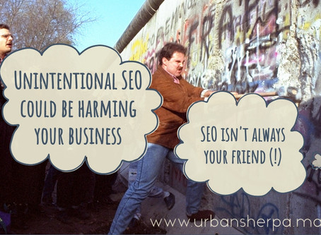 Unintentional SEO: when search engine optimization hurts rather than helps