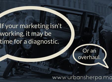 Marketing not working? Six ways to troubleshoot your marketing.