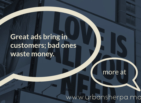 The small business guide to making a great ad.