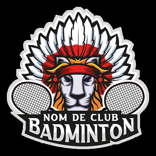 LOGO BADMINTON LION 1
